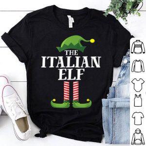 Nice Italian Elf Matching Family Group Christmas Party Pajama shirt