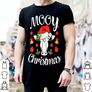 Nice Mooy Christmas Xmas Hat Cow Lover Man Woman Gift sweater