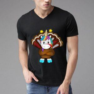 Nice The Turkey Unicorn Costume Thanksgiving shirt
