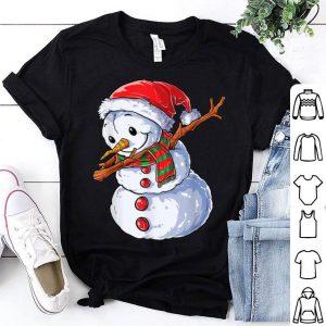 Official Dabbing Snowman Santa Christmas Kids Boys Men Dab Xmas Gifts shirt