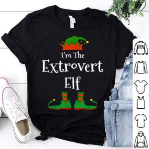 Official I'm The Extrovert Elf Family Matching Funny Christmas Gift shirt