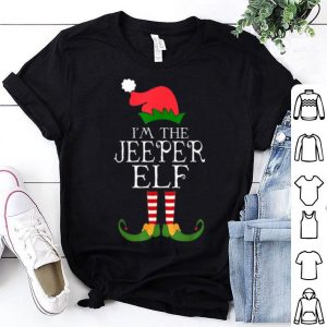 Official I'm The Jeeper ELF Santa Hat Jeep Lovers Merry Christmas shirt