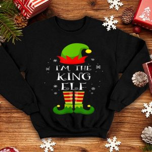 Official I'm The King Elf Matching Family Group Christmas sweater