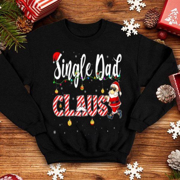 Original Cute Christmas Single Dad Santa Hat Gift Matching Family shirt