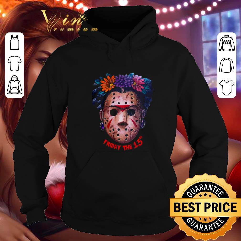Original Frida Kahlo Jason Voorhees Friday The 13th shirt 4 - Original Frida Kahlo Jason Voorhees Friday The 13th shirt