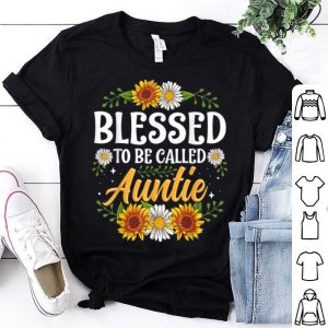 Premium Blessed To Be Called Auntie Christmas Thanksgiving shirt