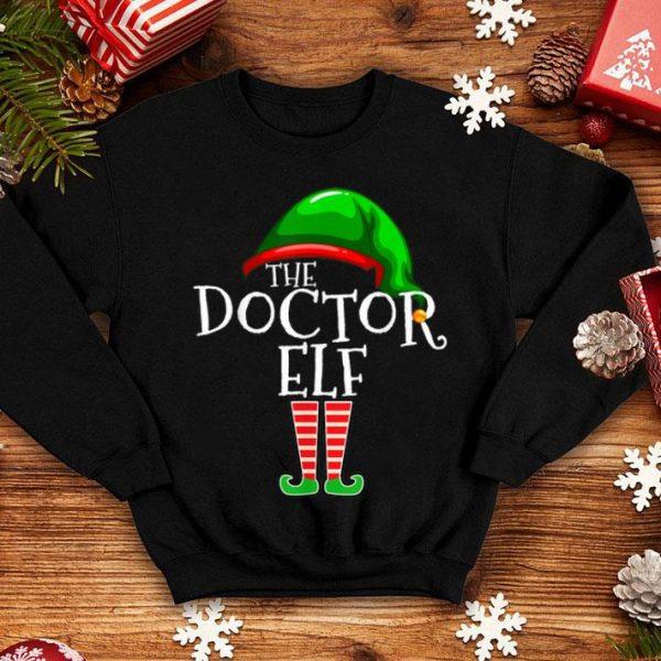 Premium Doctor Elf Group Matching Family Christmas Gift Costume Set shirt