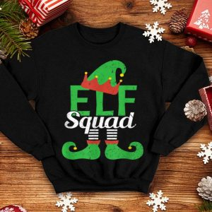 Premium Elf Squad - Funny Christmas Lazy Halloween Costume Gift shirt