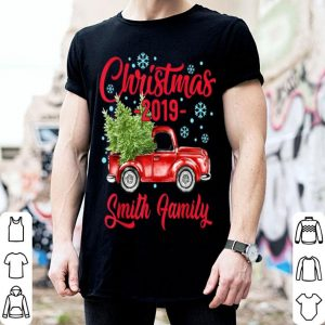 Premium Merry Christmas 2019 Smith Family Reunion Outfit Matching shirt