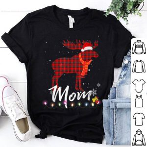Premium Mom Moose Plaid Christmas Pajama Family Matching shirt