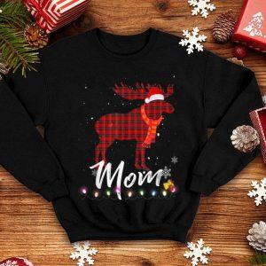 Premium Mom Moose Plaid Christmas Pajama Family Matching shirt