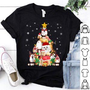 Premium Poodles Christmas Tree Xmas Gift For Poodles Dog shirt