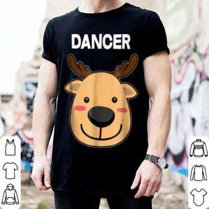 Premium Santa Reindeer Dancer Matching Christmas PJs shirt
