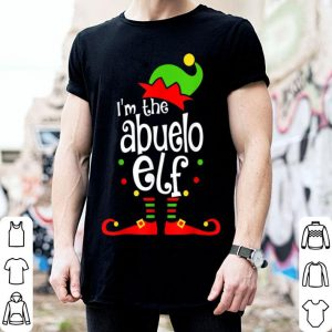 Pretty Abuelo Elf Christmas Spanish Grandpa Matching Family Xmas shirt