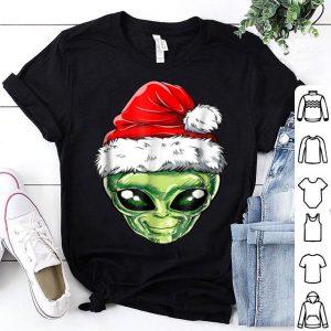Pretty Alien Santa Christmas Kids Boys Men Funny Xmas Gifts shirt