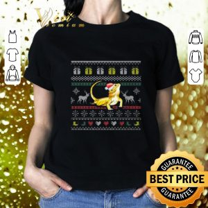 Pretty Bearded Dragon Ugly Christmas sweater