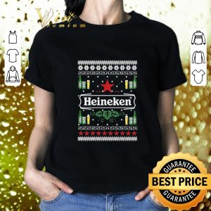 Pretty Heineken Beer Ugly Christmas shirt
