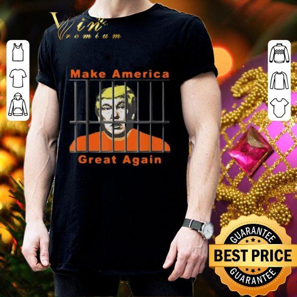Pretty Lock Trump Up AntiTrump make America great again shirt