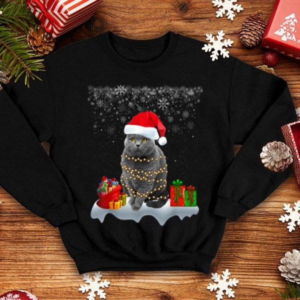 Pretty Lovely Cat Christmas Gift Ugly Christmas Sweater Xmas Style shirt