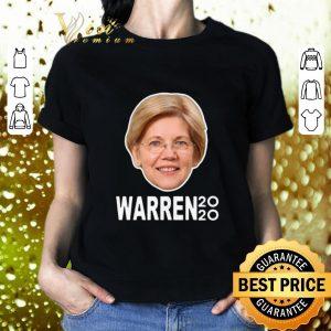 Pretty President 2020 Elizabeth Warren Face shirt