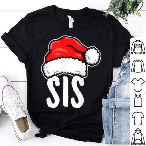 Pretty Sis Santa, Sister Matching Family Christmas Pajama Shirts shirt