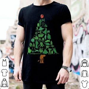 Pretty Star Wars Holiday Christmas Tree sweater