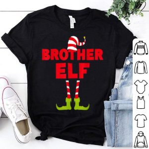 Top Brother Elf Funny Matching Christmas Costume shirt