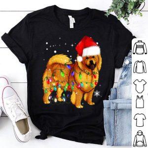 Top Christmas Lights Chow Chow Dog shirt
