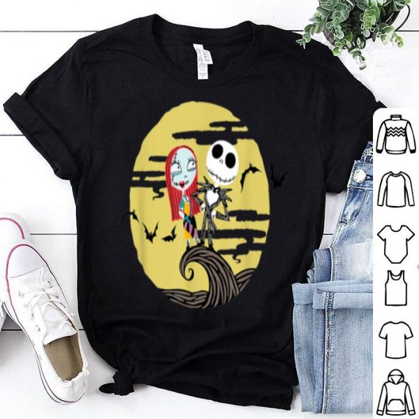 Top Disney Nightmare Before Christmas Full Moon shirt