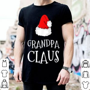 Top Grandpa Claus Christmas Hat Family Group Matching Pajama sweater