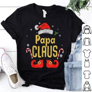 Top Papa Santa Claus Matching Family Christmas shirt