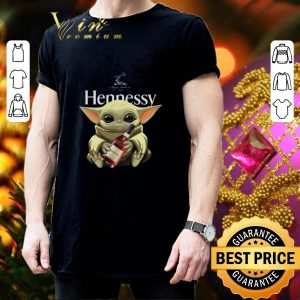 Awesome Baby Yoda Hug Hennessy Star Wars Mandalorian shirt 2