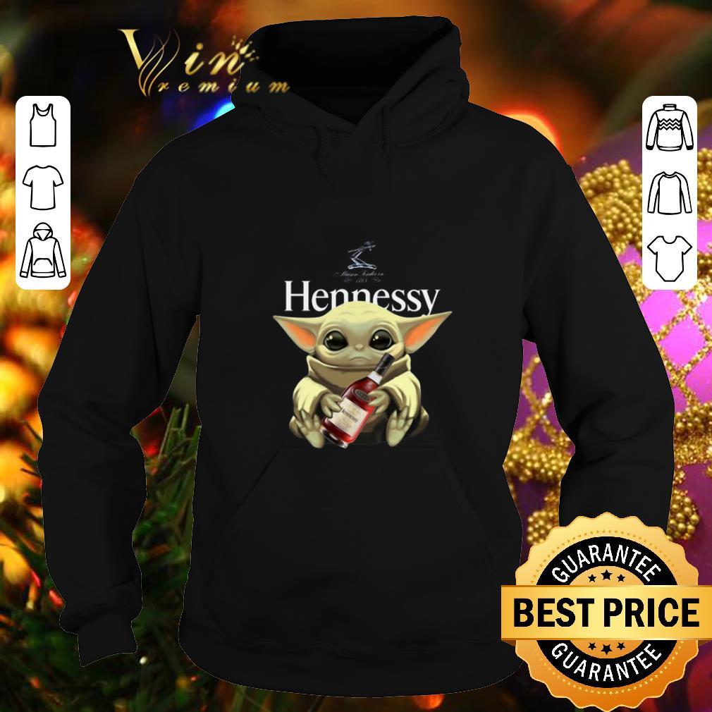 Awesome Baby Yoda Hug Hennessy Star Wars Mandalorian shirt 4 - Awesome Baby Yoda Hug Hennessy Star Wars Mandalorian shirt