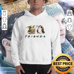 Awesome Baby Yoda and Porg Friends shirt 2