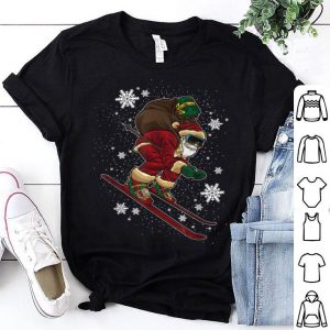 Awesome Cool Skiing Santa - Christmas Gift For Winter Sports Lovers sweater