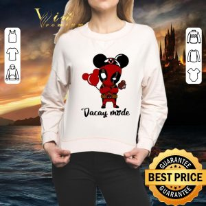 Awesome Deadpool Vacay mode shirt