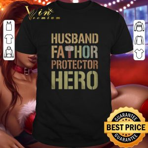 Awesome Husband Fathor Protector Hero shirt