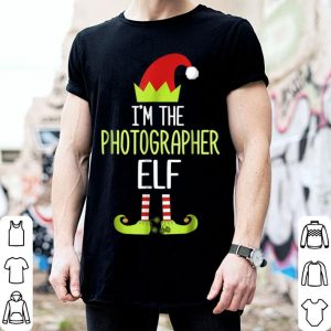 Awesome I'm The Photographer Elf Christmas Family Elf Costume sweater