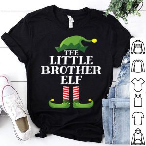 Awesome Little Brother Elf Matching Family Group Christmas Boys sweater