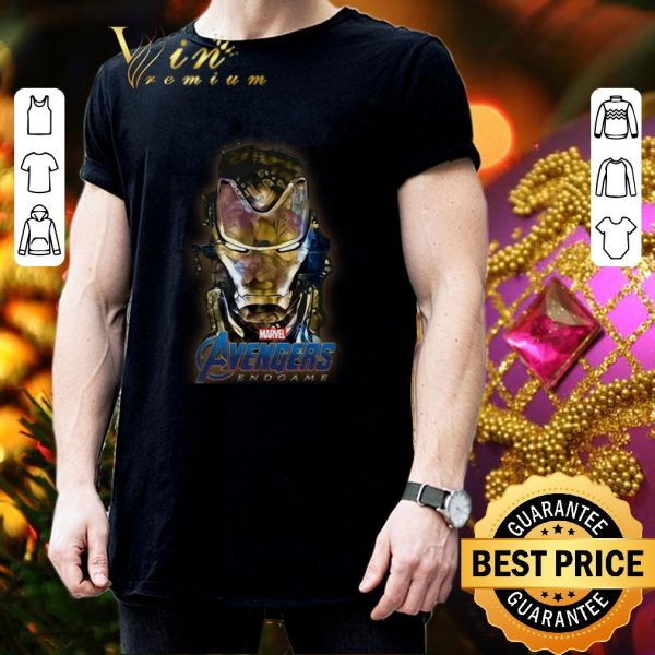 Awesome Marvel Avengers Endgame Iron Man Golden shirt