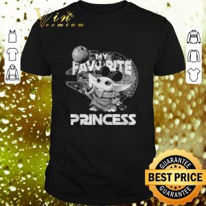 Awesome Mickey Baby Yoda My Favorite Princess Star Wars Mandalorian shirt
