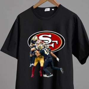 Awesome Sprint Football San Francisco 49ers And New Orleans Saints shirt