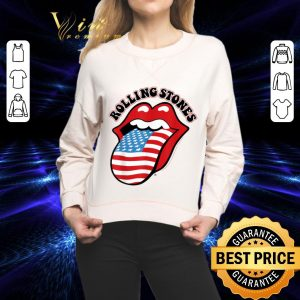 Awesome The Rolling Stones American USA Flag shirt
