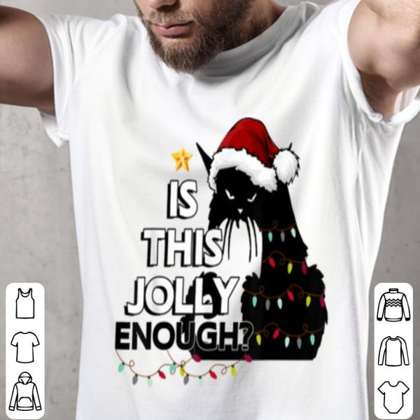 Beautiful Black Cat Christmas Tree Is This Jolly Enough For Xmas sweater
