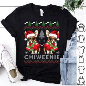 Beautiful Funny Chihuahua Dog Xmas Gift Tee Chiweenie Ugly Christmas sweater