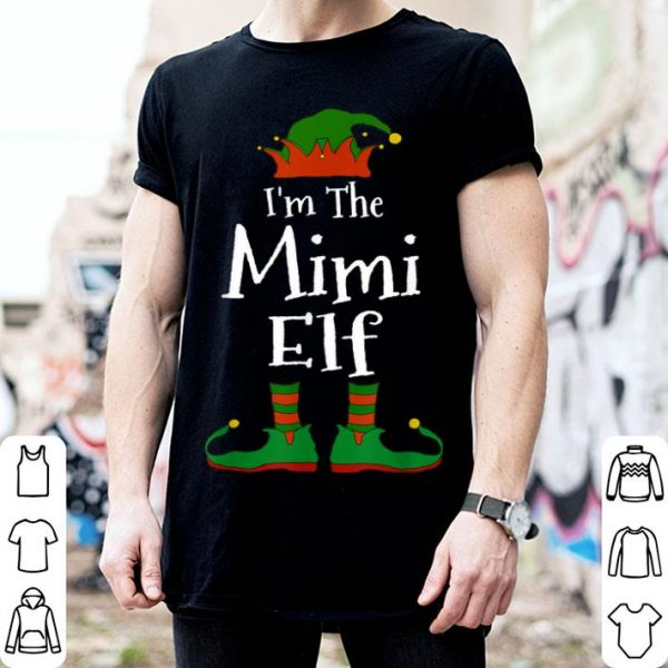 Beautiful I'm The Mimi Elf Family Matching Funny Christmas Group Gift sweater