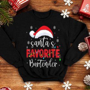Beautiful Santa's Favorite Bartender sweater