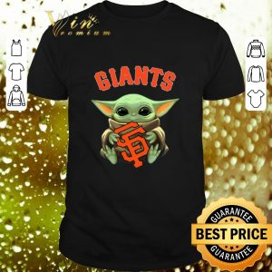 Best Baby Yoda hug San Fran Giants Star Wars Mandalorian shirt