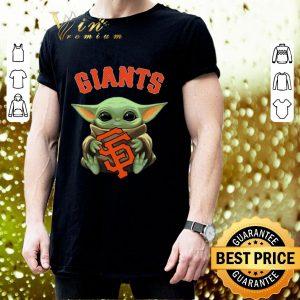 Best Baby Yoda hug San Fran Giants Star Wars Mandalorian shirt 2