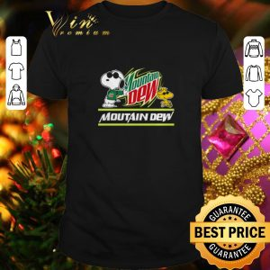 Best Snoopy Woodstock Mountain Dew Peanuts Star Wars shirt